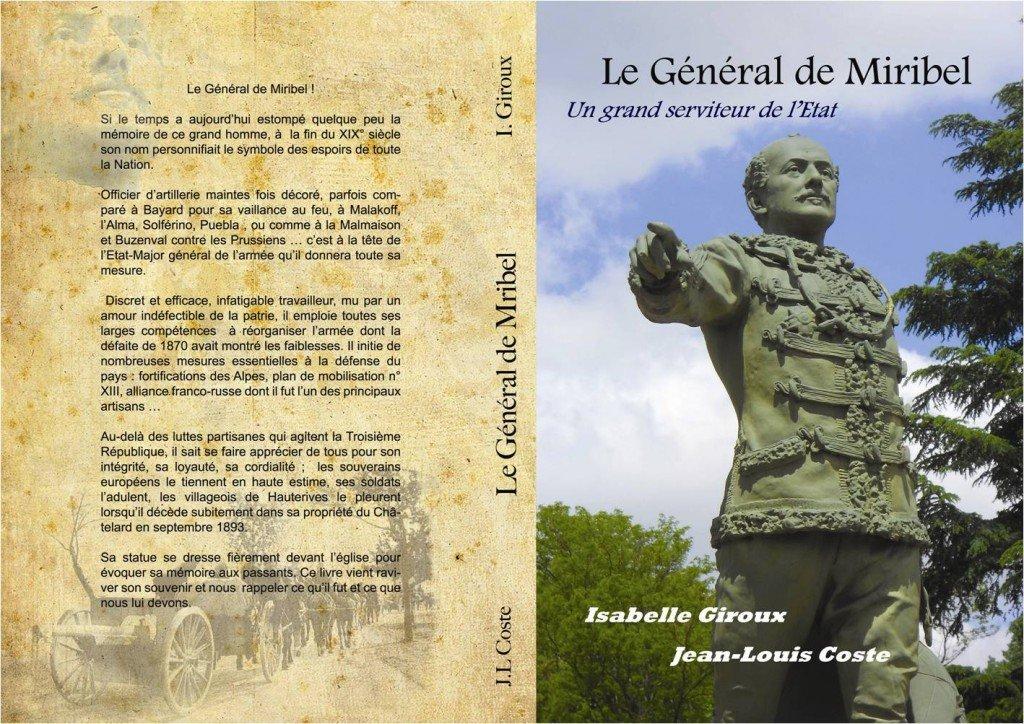 le général de Miribel dans les livres sur l'histoire dans la vallée de la Galaure image1
